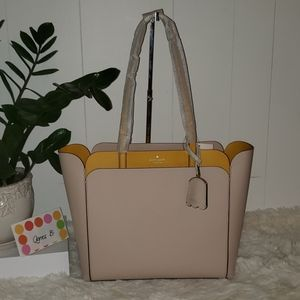 Kate Spade New York Med double pocket tote